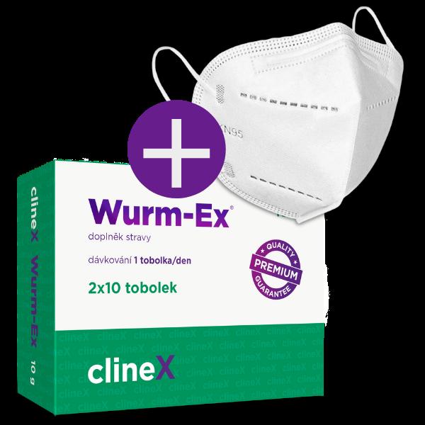 Dvojbalení Wurm-Ex + dárek
